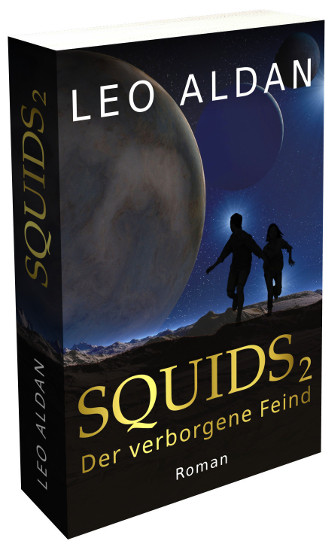 Buch Science Fiction SQUIDS 2 Cover 3D