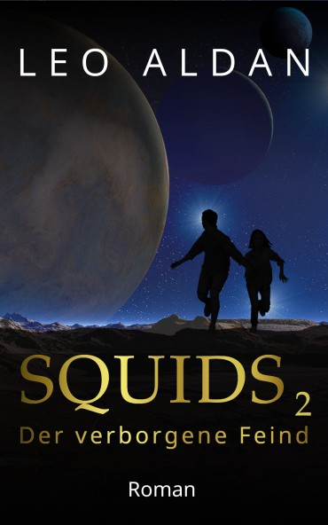 Bücher Buch Science Fiction SQUIDS 2 Cover flach