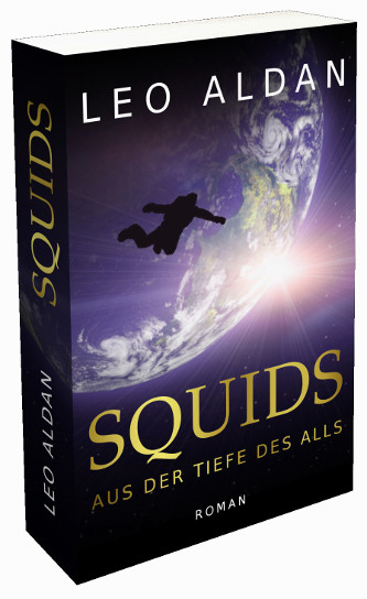 Buch Science Fiction SQUIDS Cover 3D