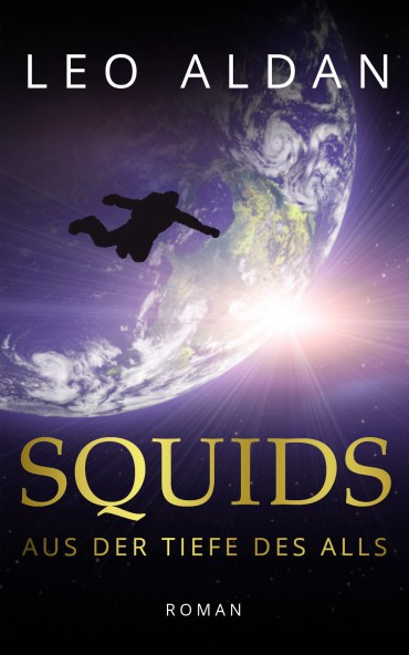 Buch Science Fiction SQUIDS Cover flach
