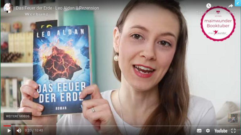Das Feuer der Erde Buch Umweltkatastrophe Videooverlay