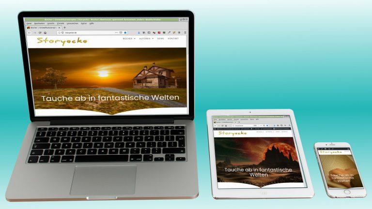 Webseiten von Leo Aldan Webseite storyecke
